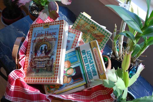 Laura Ingalls Wilder's books that never grow old.