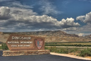 The entrance to Dinosaur National Monument. From Flickr user jdurchen.