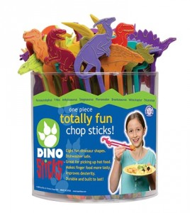 Dinosaur Chopsticks, by 4physics.