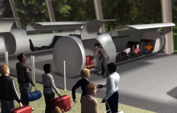 Evacuated Tube Transport system