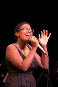 First Place Winner, Cécile McLorin Salvant. Photo by Chip Latshaw, courtesy of the Thelonious Monk Institute of Jazz.