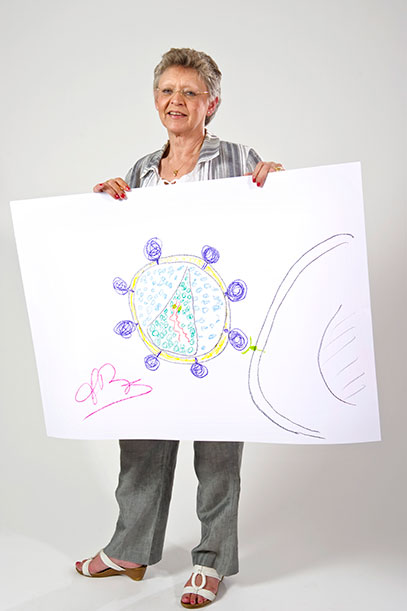 Nobel Prize Winners Are Put to the Task of Drawing Their Discoveries