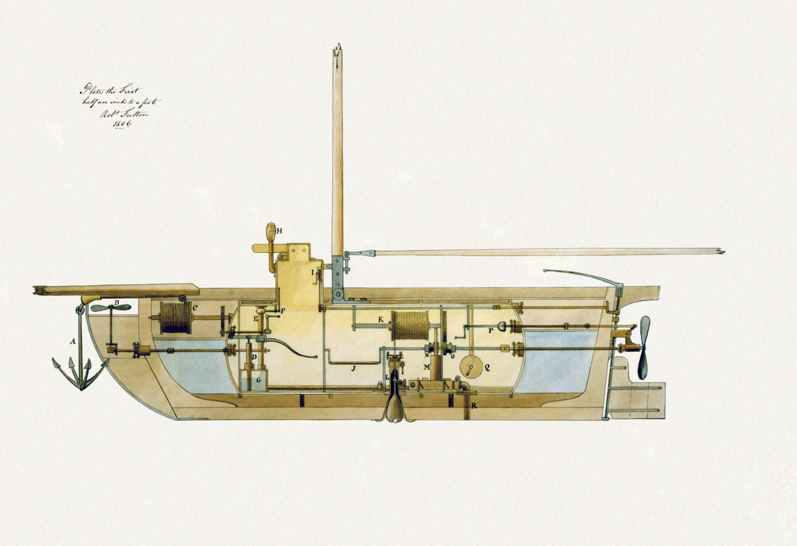 The secret plot to rescue napoleon by submarine history robert fultons submarine of 1806 was developed from plans paid for by the british and was probably the inspiration for johnsons designs pooptronica