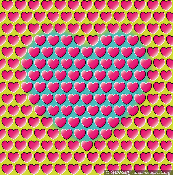 These Patterns Move But Its All An Illusion