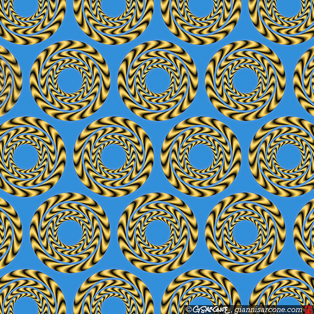 These Patterns Move But It S All An Illusion Science