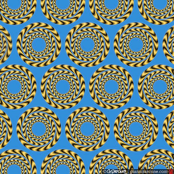 O Padrão é Circular... Gianni-Sarcone-optical-illusion-4