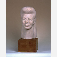 A sculpture of Ginger Rogers by the Japanese-American artist, Noguchi, is on display at the National Portrait Gallery. Photo courtesy of the Isamu Noguchi Foundation, Inc., New York