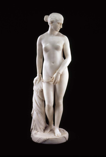 The Greek Slave, by Hiram Powers.