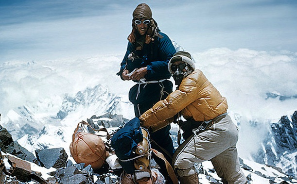 Fist man to climb mount everest logically correctly