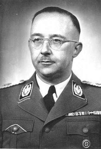 SS chief Heinrich Himmler personally interrogated Eisler. Photo: Wikicommons