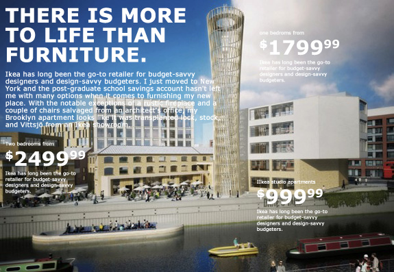 Franchising neighborhoods can ikea sell urban design for Ikea shops london