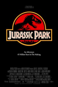 The poster for the first Jurassic Park film. Will there be a fourth? (Image from Wikipedia)
