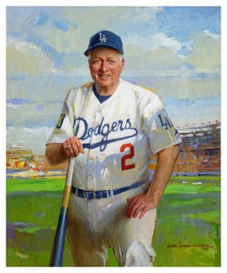 Tommy Lasorda by Everett Raymond Kinstler, oil on canvas, 2009    Smithsonian Institution, National Portrait Gallery; gift of friends of Tommy Lasorda