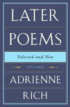Later Poems Adrienne Rich