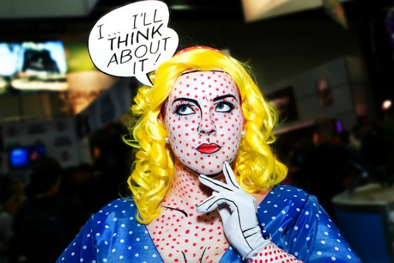 Roy Lichtenstein Pop Art Costume