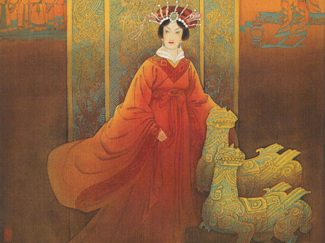 wu zetian a concubine to emperor Meet wu zetian1, first and only female emperor of china — seen here poisoning  her infant daughter now, that's actually a bit of a historical inaccuracy: the.