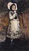 Ethel Merman (1971) by Rosemarie Sloat. NPG, SI