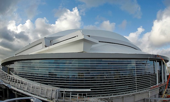 Marlins Park baseball