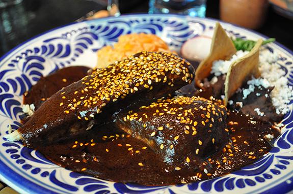 Mole Poblano is the iconic dish of Puebla. (Photo courtesy of Chantal ...