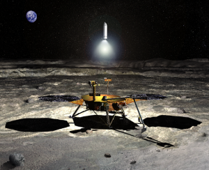 A robotic sampler leaves the Moon: What will we learn from it?