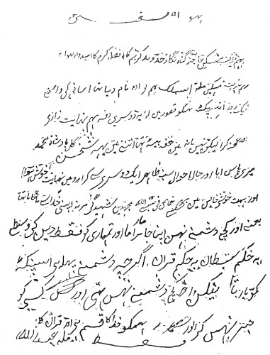 Mullah Abdullah's suicide note was found in the rocks where he had hidden three days after the battle. Sent to Adelaide for translation, it turned out to contain an anguished account of his persecution at the hands of a unionized sanitary inspector–and a resolution to die for his faith.