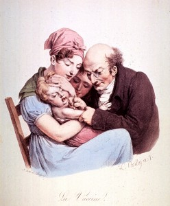 La Vaccine, 1827 (courtesy of the National Library of Medicine)