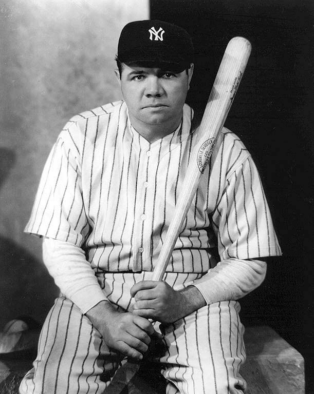 Babe Ruth  1895-1948  also of Babe Ruth Yankees