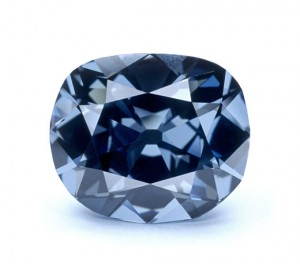 The Hope Diamond umounted, courtesy of National Museum of Natural History