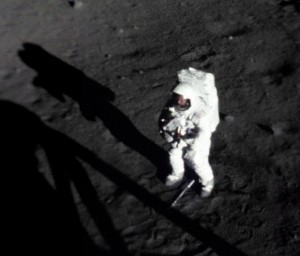 Neil walks on the Moon, July 1969