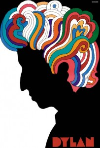 Milton Glaser's 1966 portrait of Bob Dylan. Milton Glaser / Cooper-Hewitt, National Design Museum, SI