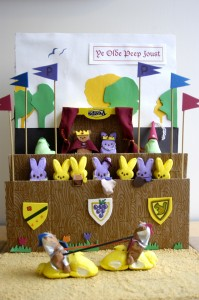 Peeps diorama by Sarah Zielinski, Amanda Bensen and Jamie Simon (photo by Molly Roberts)