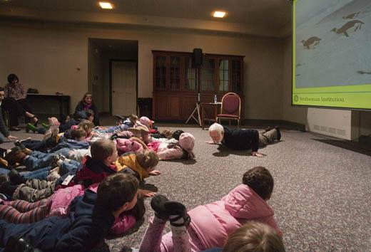 Smithsonian Secretary Wayne Clough speaks about his trip to Antarctica