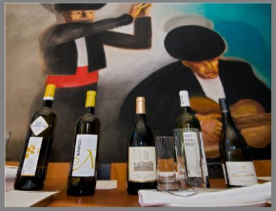 Ribeiro wines at Jaleo, courtesy Deussen Communications.