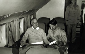 Roosevelt on the way to Casablanca (Photo: FDR Library)