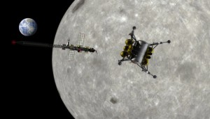A cislunar transport system will revolutionize space travel (NASA artwork by Pat Rawlings)