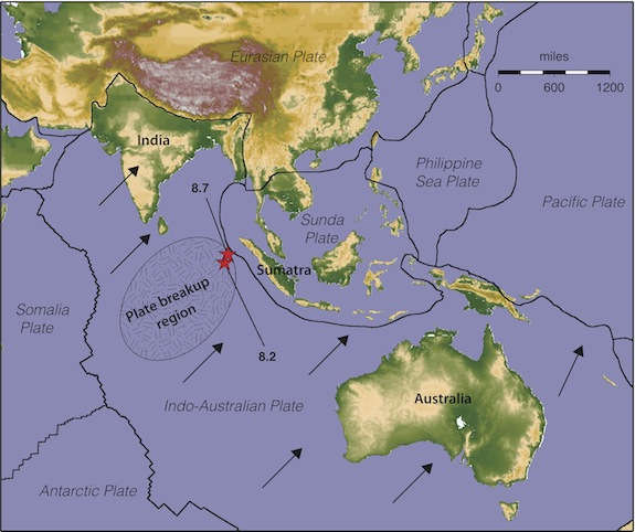 Largest Quake Of The Year Crossed Fault Lines Echoed For A Week - World fault lines