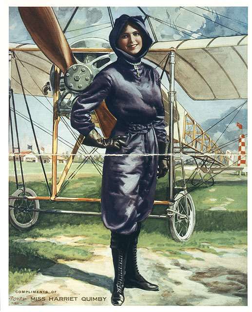 Quimby in her purple flying outfit was a popular poster of the day (SI-72-10099~A)