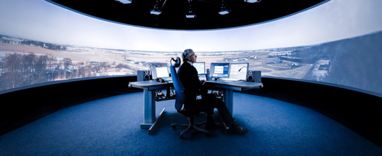 Saab's r-TWR air traffic control center