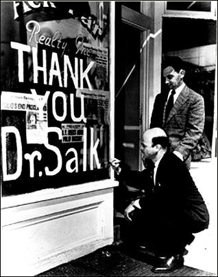 Salk sabin and the race against polio history smithsonian for Polio transmission swimming pools