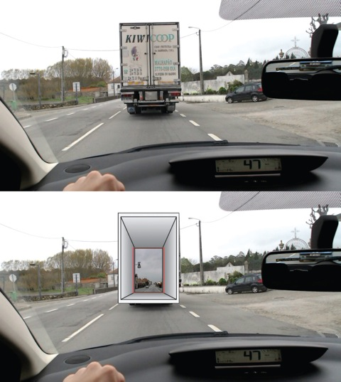 This Clever Augmented Reality System Lets Drivers See Through Cars