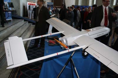 The RQ-7 Shadow 200, by AAI Corp.