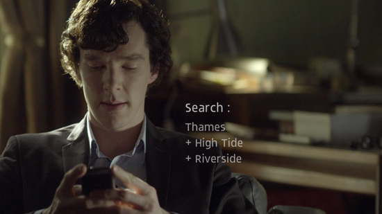 A modern sherlock holmes and the technology of deduction for Find and design tv show