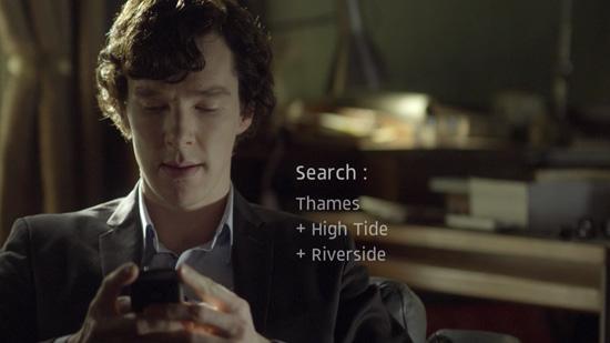Sherlock Holmes web search