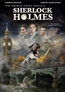 The poster for the Asylum version of Sherlock Holmes.