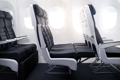 The Air New Zealand Skycouch.