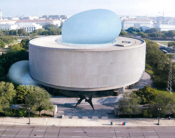 The proposed bubble at the Hirshhorn Museum. Image courtesy of Diller Scofidio + Renfro.