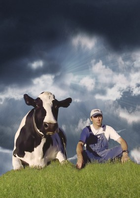 "Still from ""Peaceable Kingdom: The Journey Home,"" a 2009 documentary about farming."