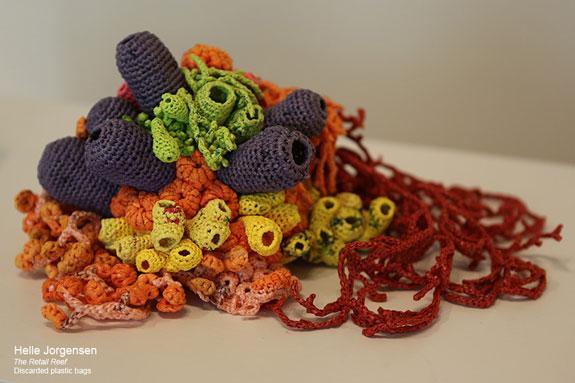 Trash As Treasure Crocheting Plastic Coral Reefs Science