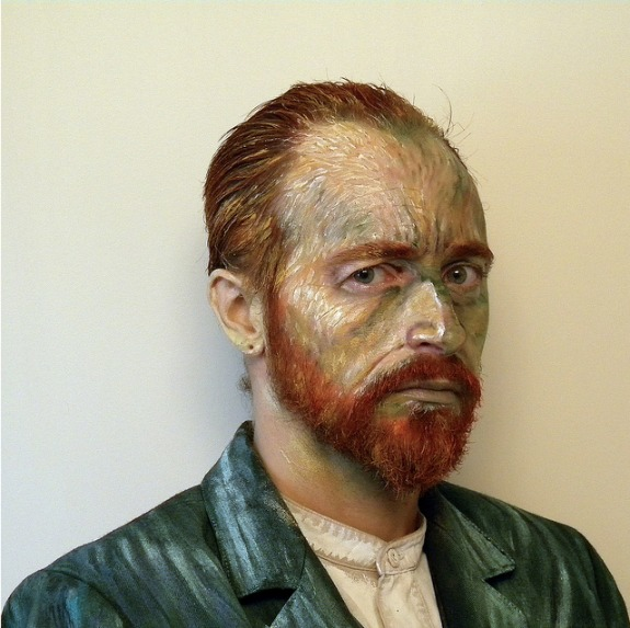 Van Gogh Halloween Costume, Self Portrait