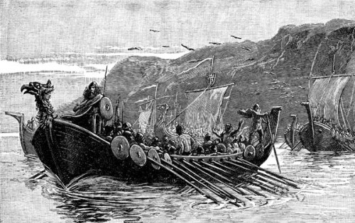 One Key To The Success Of Viking Raiders This Period Was Their Maneuverability Shallow Draft Longships Allowed Them Penetrate River Systems And
